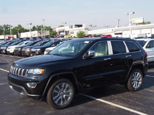 2017 Jeep Grand Cherokee Limited Black Youngstown Oh