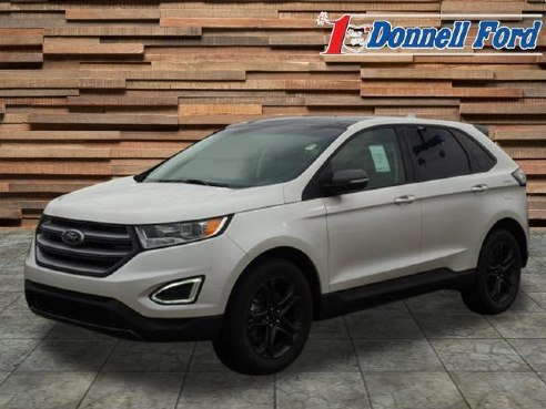 Ford Edge Sel White Platinum Youngstown Oh