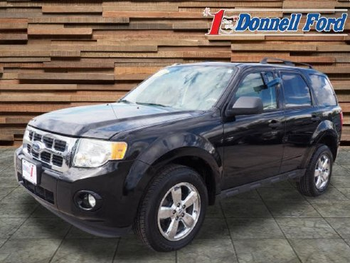 2009 Ford Escape Xlt Black Youngstown Oh